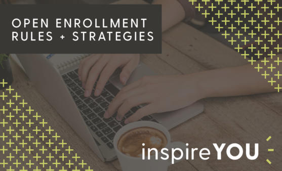Open enrollment strategies webinar promotional image