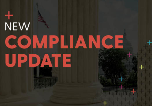 New Compliance Update